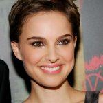 Natalie Portman pixie cut