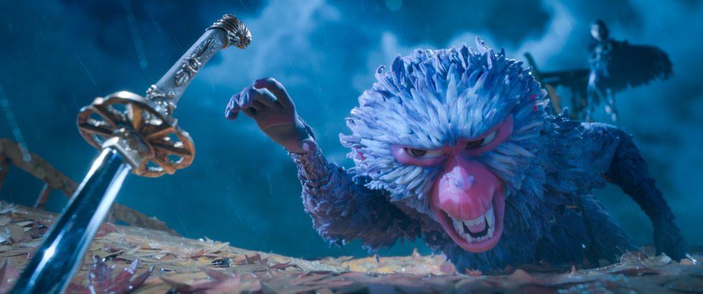 Scimmia si lancia in un'aspra battaglia per difendere Kubo  - Laika Studios/Focus Features