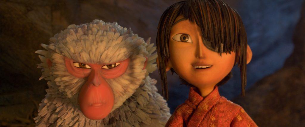Scimmia è la guida e protettrice di Kubo  - Laika Studios/Focus Features