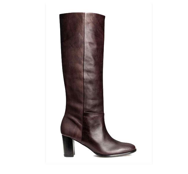 H&M stivali con tacco quadrato e fino al ginocchio