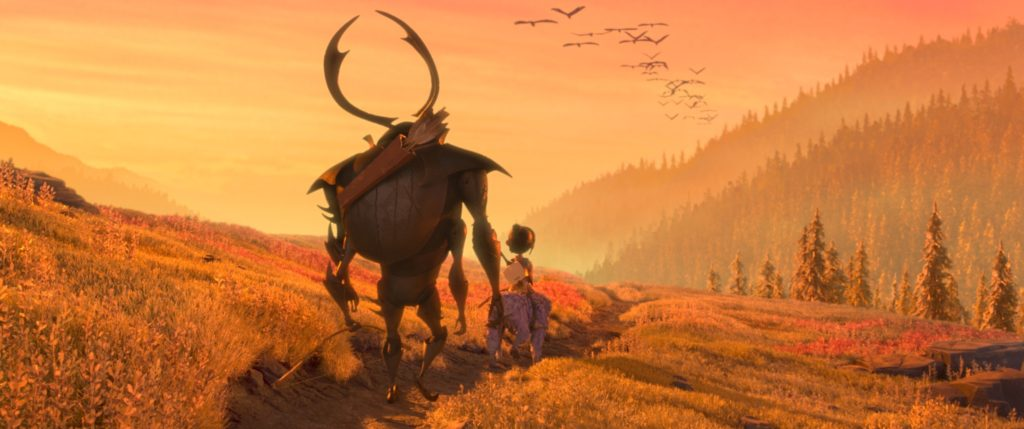 Kubo Scimmia e Scarabeo trovano un sentiero promettente- Laika Studios/Focus Features