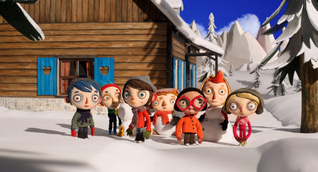 gita scolastica sulla neve