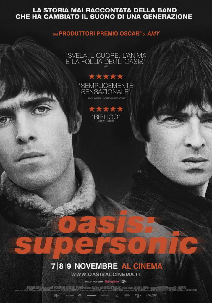 Oasis: Supersonic - il manifesto. Nei cinema come evento speciale dal 7 novembre 2016