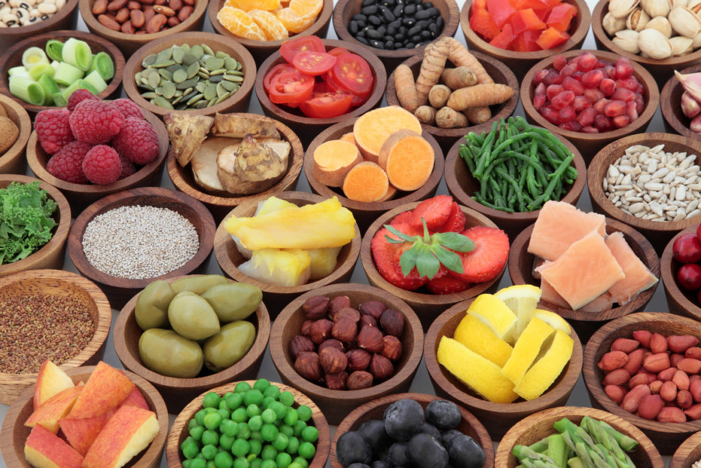 Alimenti salutari per dieta a punti