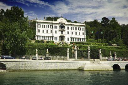 Villa Carlotta su Lago di Como. Dove si trova il giardino botanico.