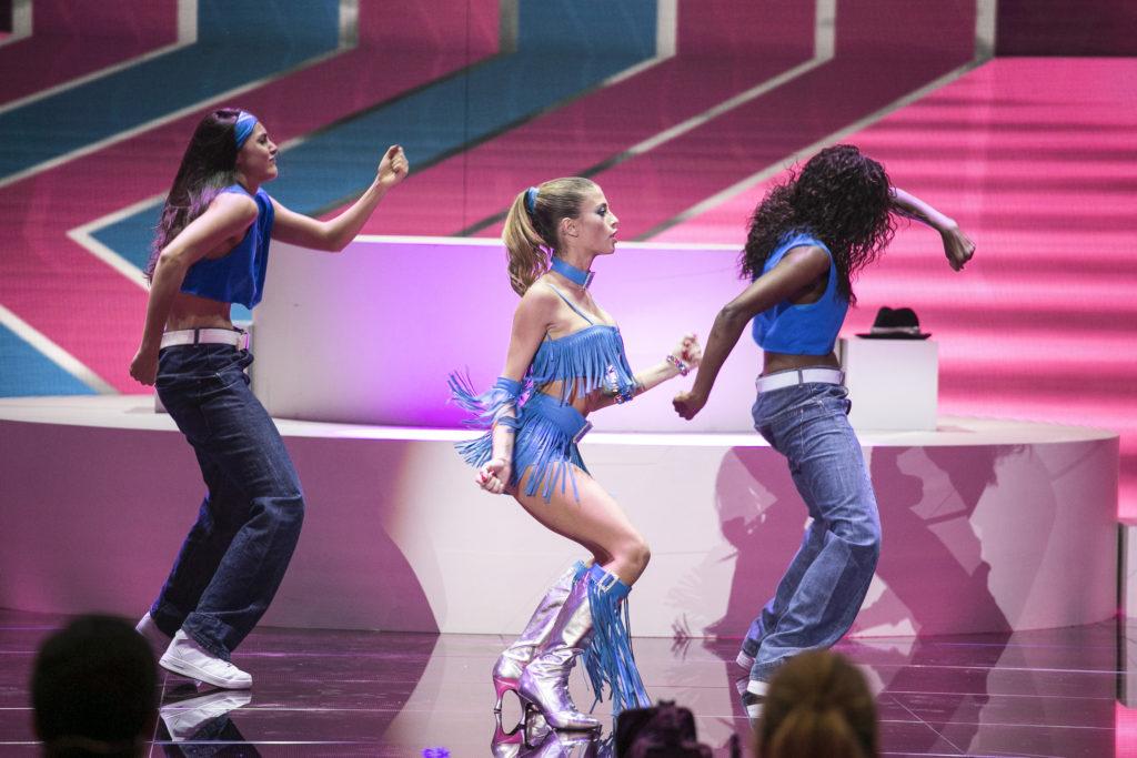 Chiara Nasti in uno dei grandi successi delle Destiny's Child: Bootylicious