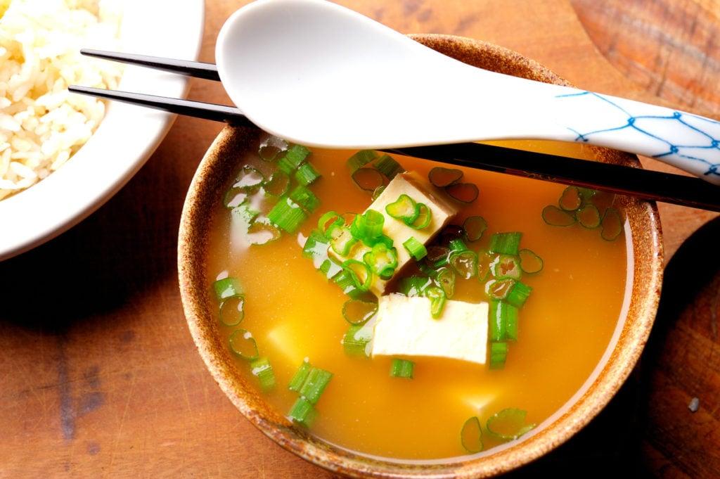 Zuppa di miso.