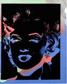 Andy Warhol One Multicoloured Marilyn (Reversal Series) 1979-1986 Acrilico, polimeri sintetici e serigrafia su tela, 50,8x40,7 cm Courtesy: Collezione privata (VR) © The Andy Warhol Foundation for the Visual Arts lnc. by SIAE 2017