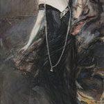 Giovanni Boldini Ritratto di Donna Franca Florio 1901-1924 Olio su tela, 221x119 cm AMT Real Estate SPA in c.p.o.