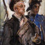 Giovanni Boldini Due Marinai 1880 ca. Olio su tavola, 24x14 cm Collezione privata