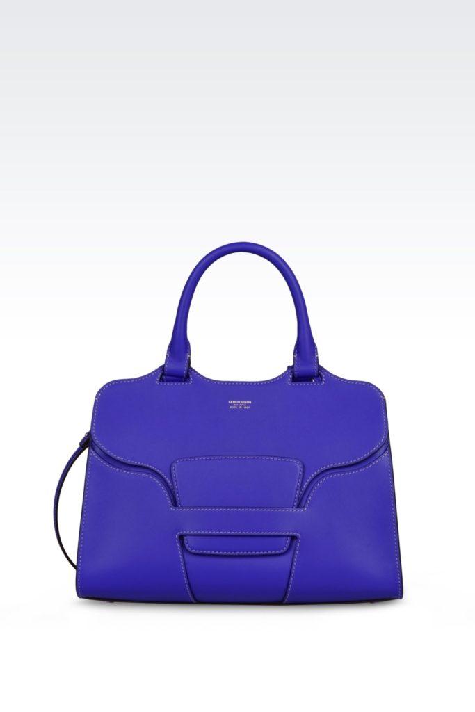 68a0af6e0e La nuova collezione di borse Giorgio Armani Primavera/Estate 2017 comprende  borse di tutte ...