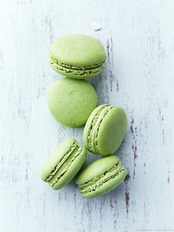 Dessert in stile greenery, Pinterest Règal.fr