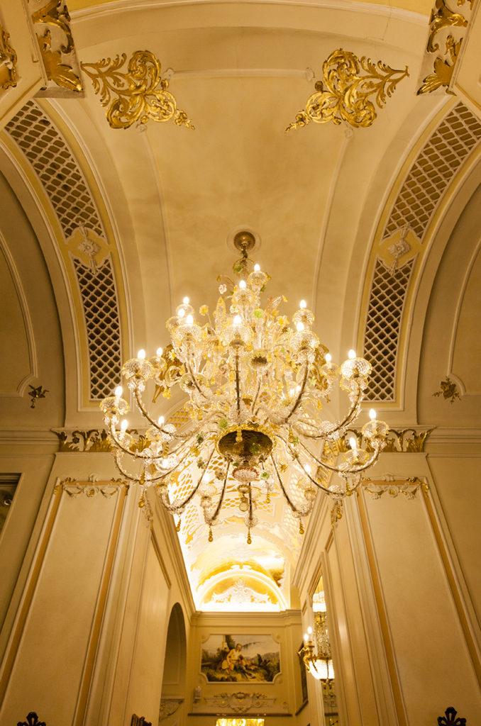 Interni del Grand Hotel des Iles Borromèes