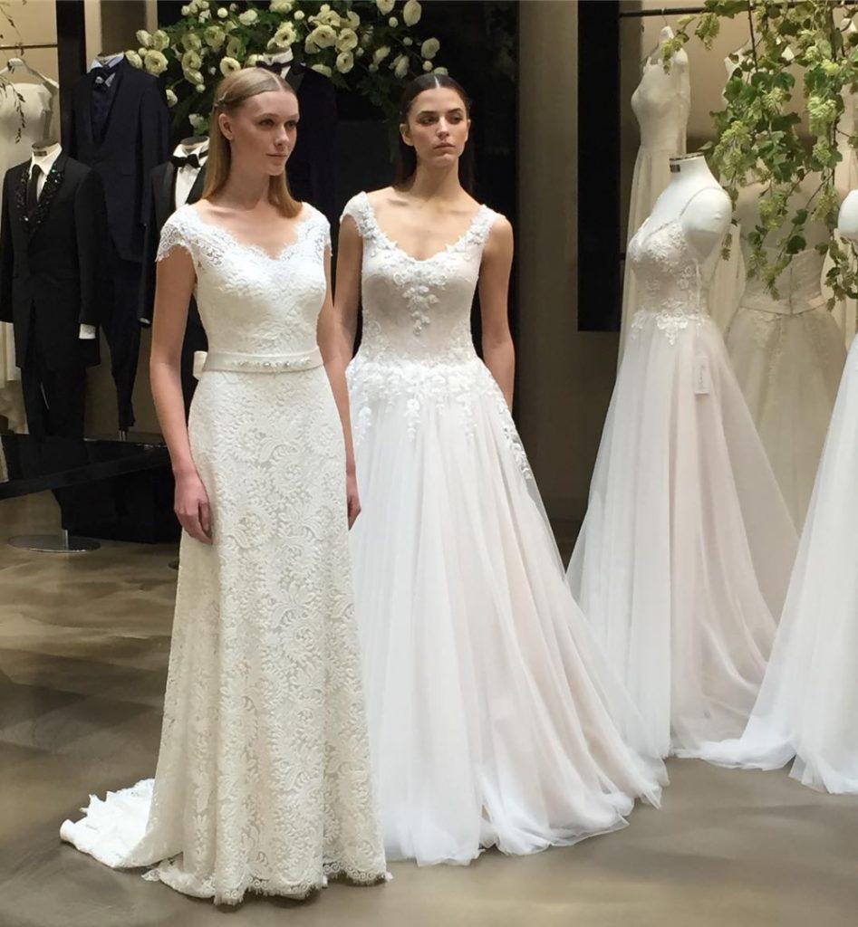 Vestiti Da Sposa 2018 Pignatelli.Collezione Fiorinda 2018 Unadonna It Il Magazine Declinato Al
