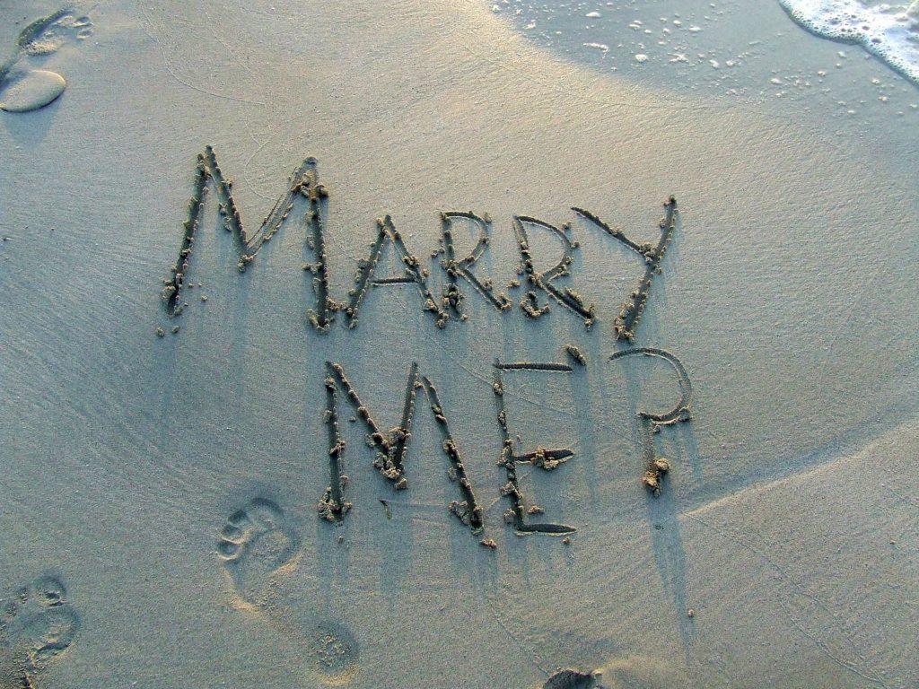 proposte di matrimonio insolite