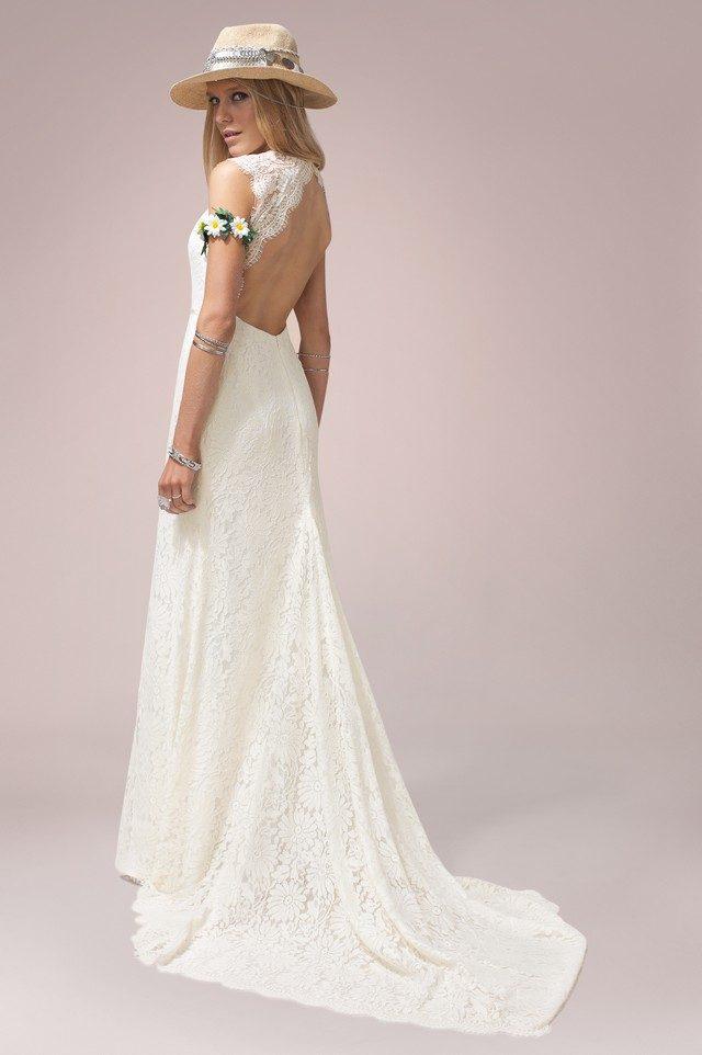 abito da sposa ruedeseine con strascico