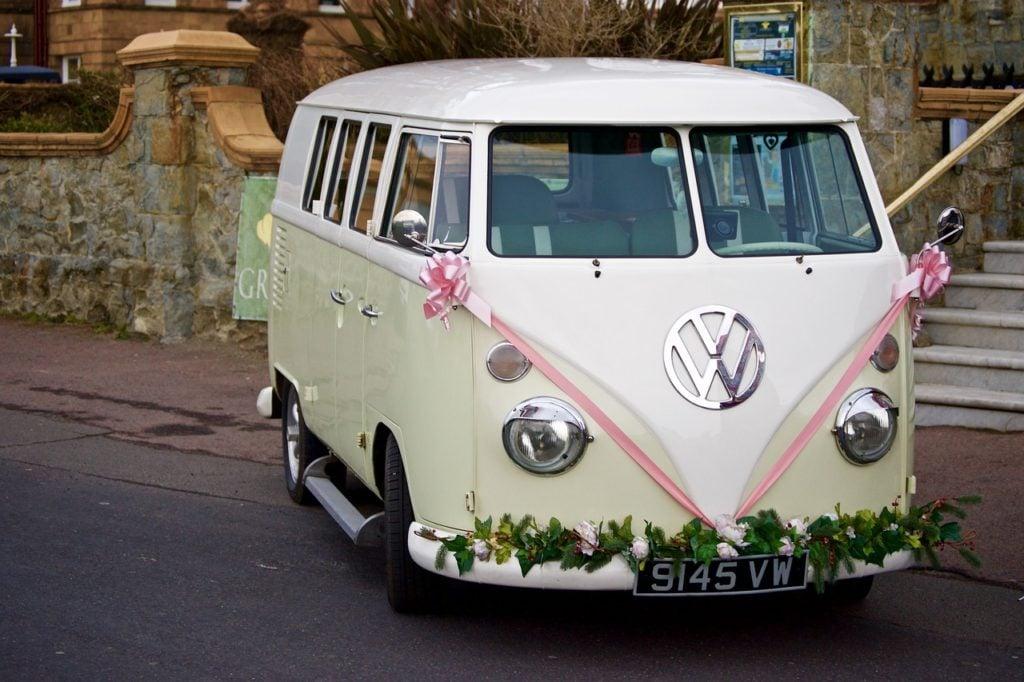mezzo di trasporto perfetto per nozze bohémien