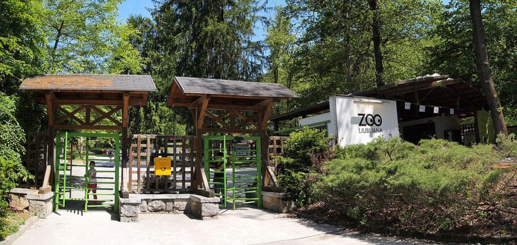 L'ingresso del Giardino Zoologico