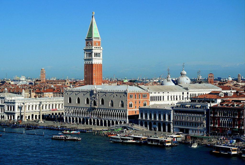 Venezia: piazza San Marco e Palazzo Ducale.