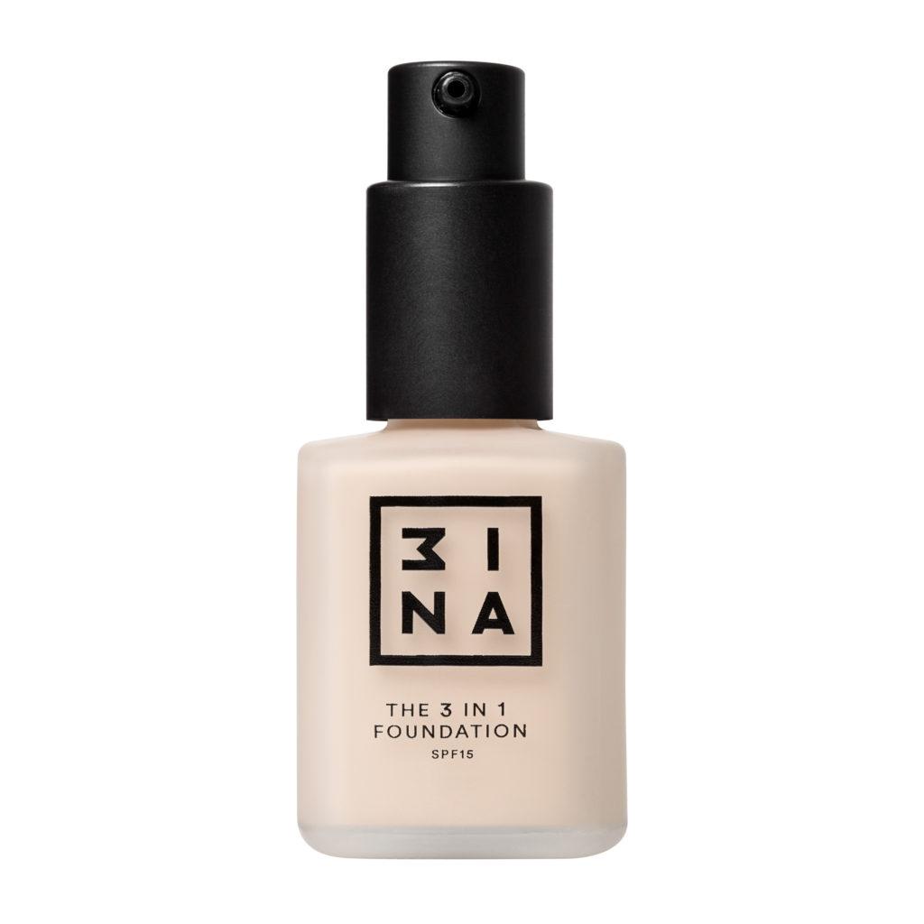 The 3 in 1 Foundation – 3ina –  in 18 colori, 15,95€