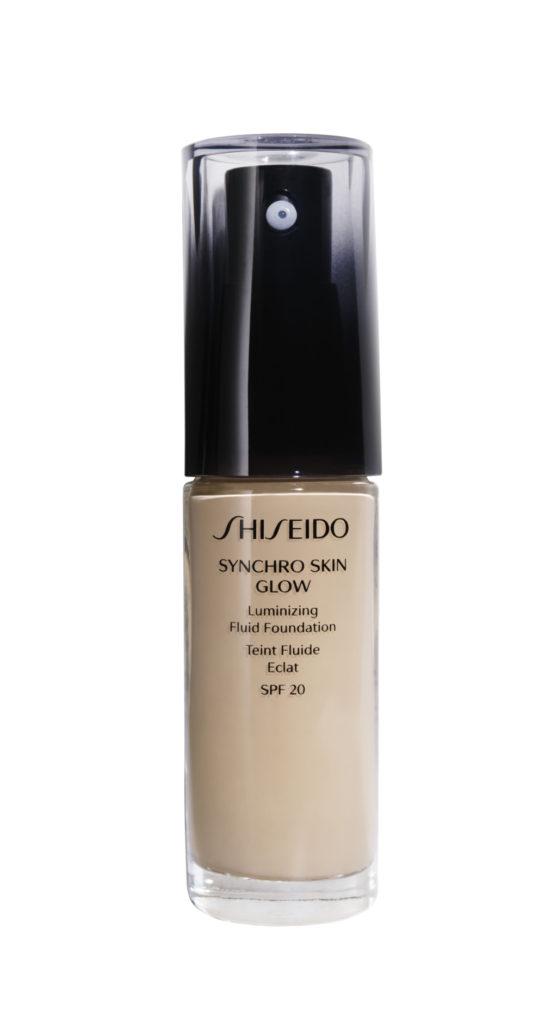 Synchro Skin Glow Luminizing Fluid Foundation SPF20 – Shiseido - 10 tonalità divise in 3 famiglie di colore – 50€ 30 ml