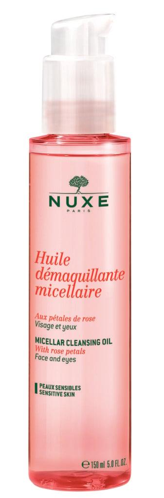Olio struccante micellare ai petali di rosa – Nuxe – 16,90€