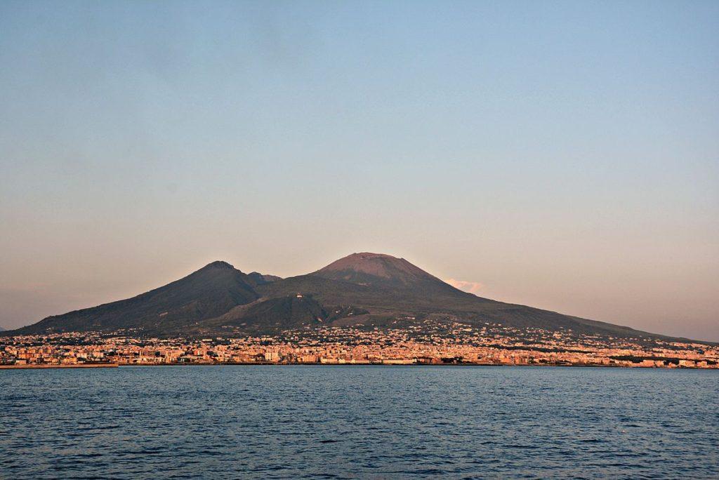Il Vesuvio, a Napoli.