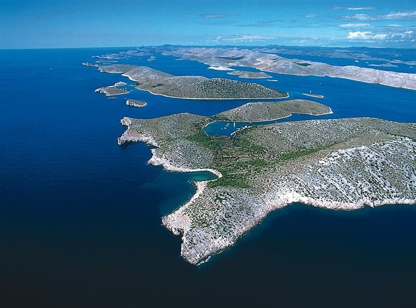 La costa della Dalmazia
