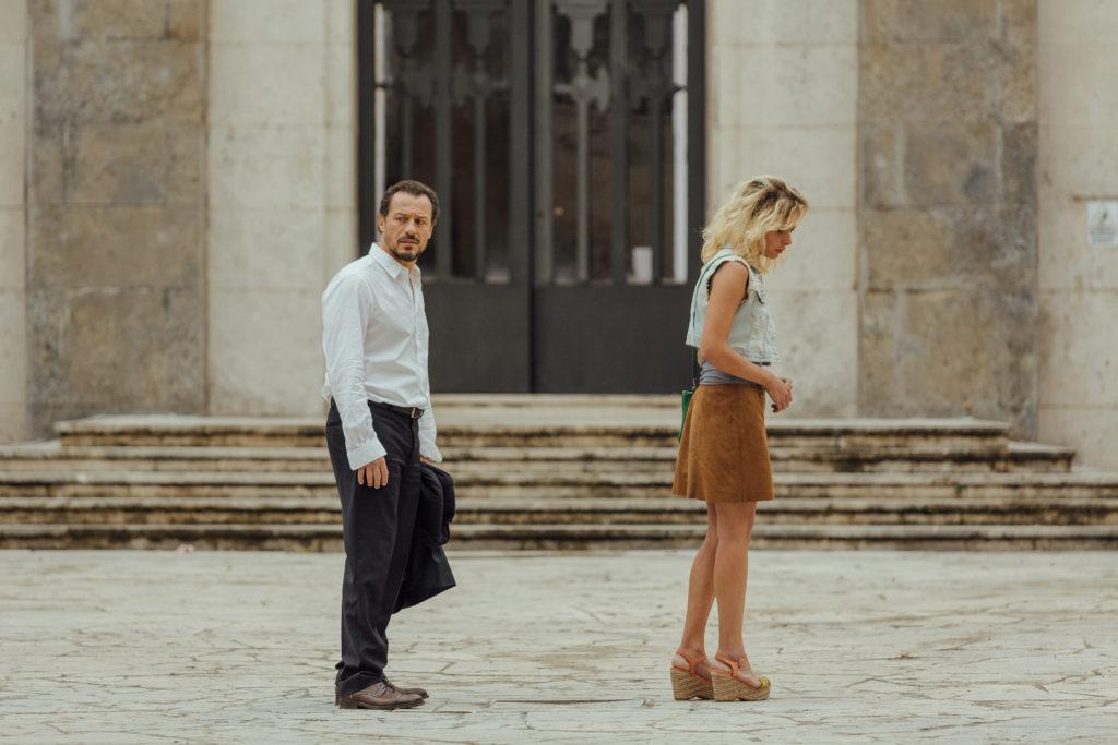 Stefano Accorsi e Jasmine Trinca in Fortunata