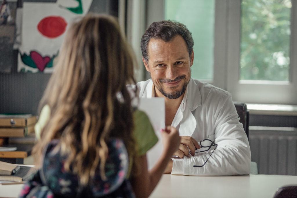 Stefano Accorsi e Nicole Centanni