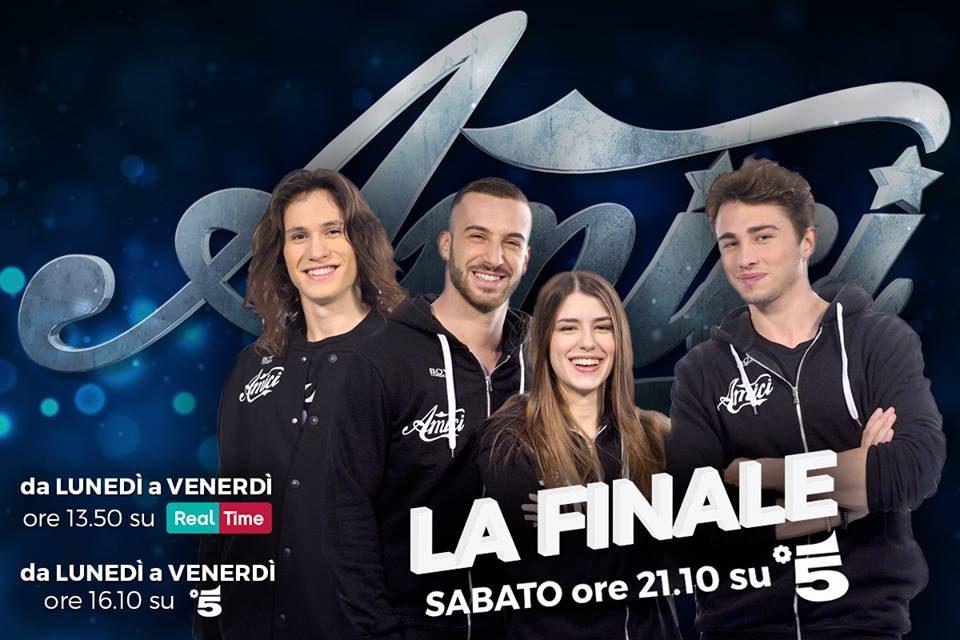 I finalisti di Amici 16
