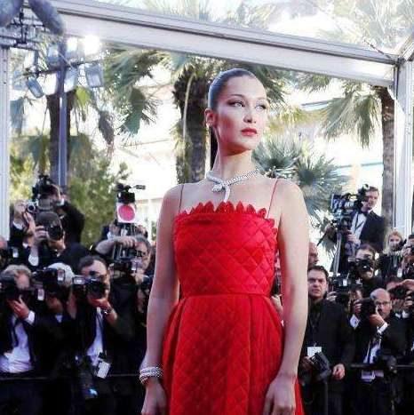 Bella Hadid al Festival di Cannes 2017