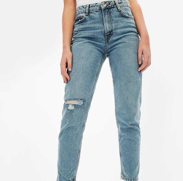 Bershka jeans mom fit