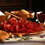 Piatto di bresaola