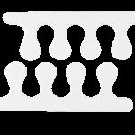 Pupa separatore dita