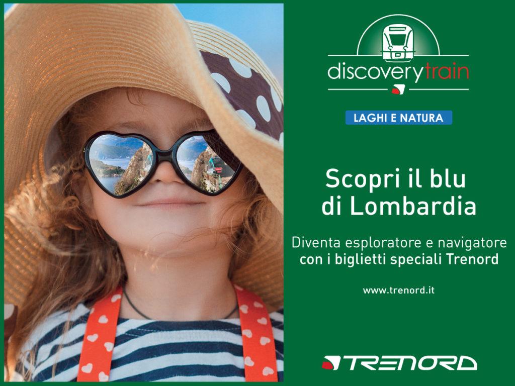 Trenord presenta  le offerte Discovery Train – Estate 2017.