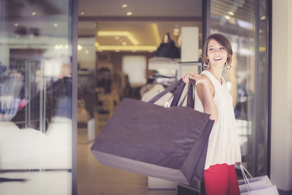 Shopping a Livigno.
