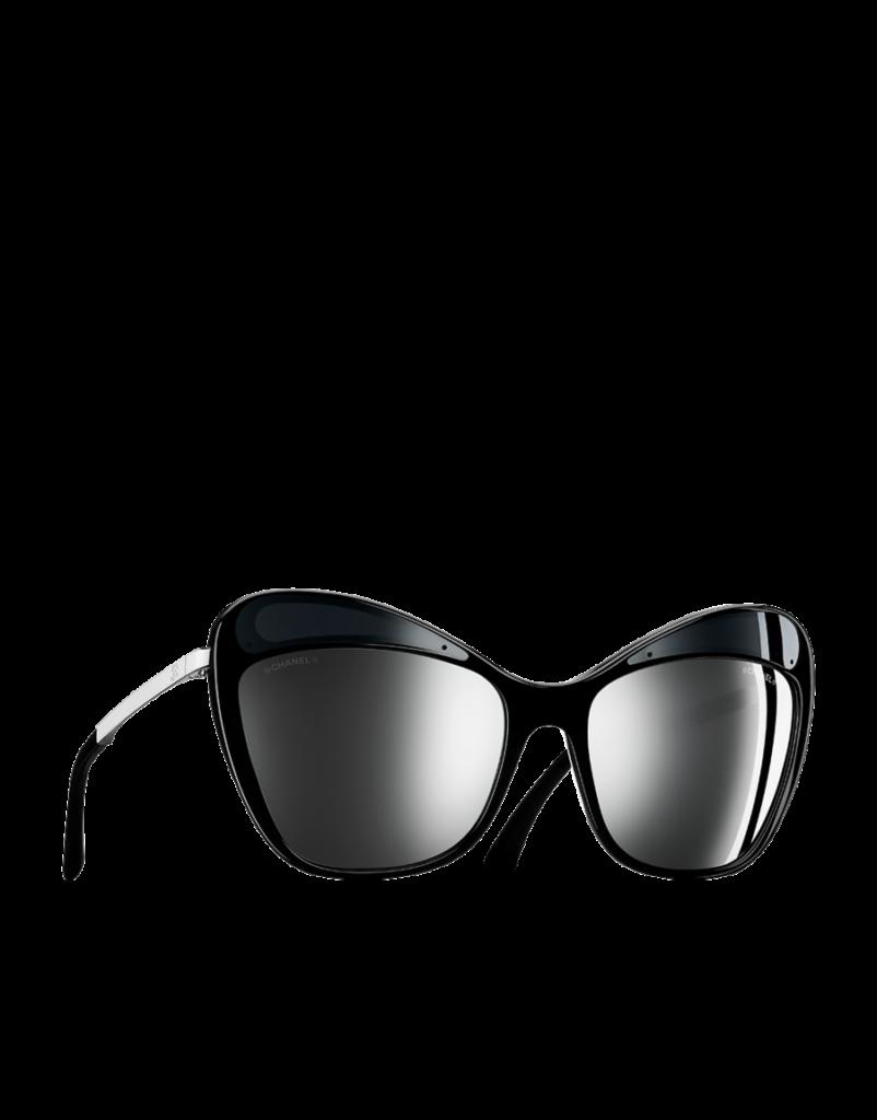 Chanel occhiale da sole modello butterfly