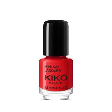 Mini Nail Lacquer – Kiko – colore 15 Vermillion Red, 1€