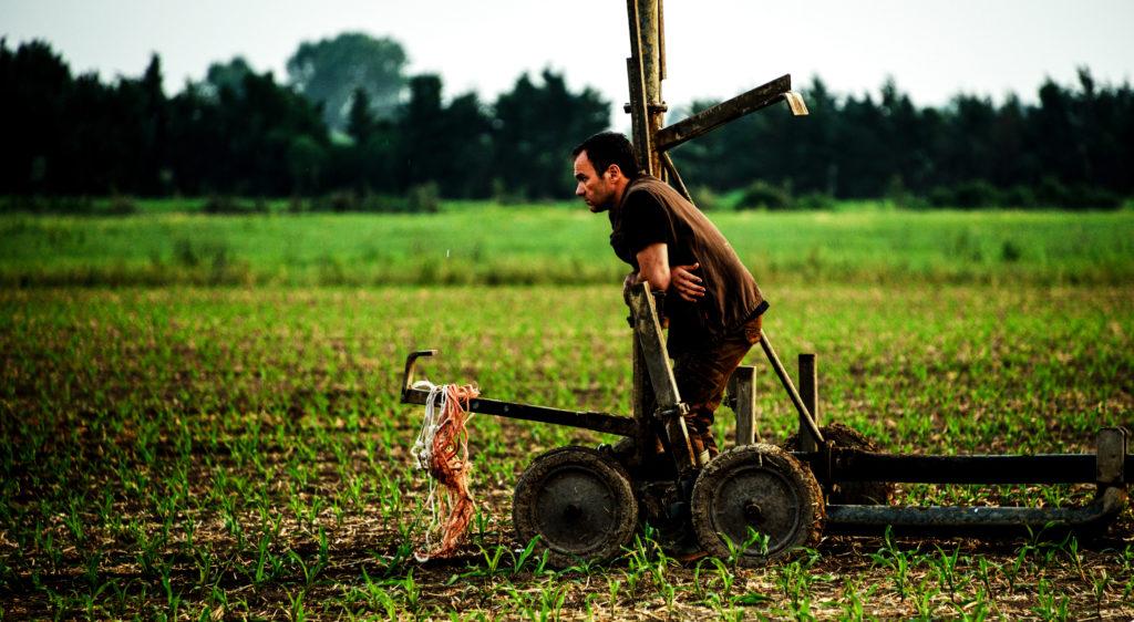 Cosimo lavora la terra in Veleno
