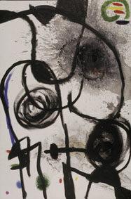 Joan Miró Untitled, 1967 Oil and acrylic on canvas, 130,5x195 cm © Successió Miró by SIAE 2017 Archive Fundació Pilar i Joan Miró a Mallorca © Joan Ramón Bonet & David Bonet