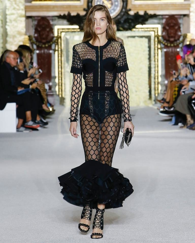 PFW SS 2018: Balmain by Olivier Rousteing
