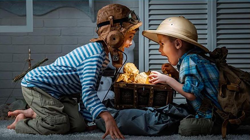 Caccia Al Tesoro Bambini 3 Anni : Caccia al tesoro: alcune idee unadonna