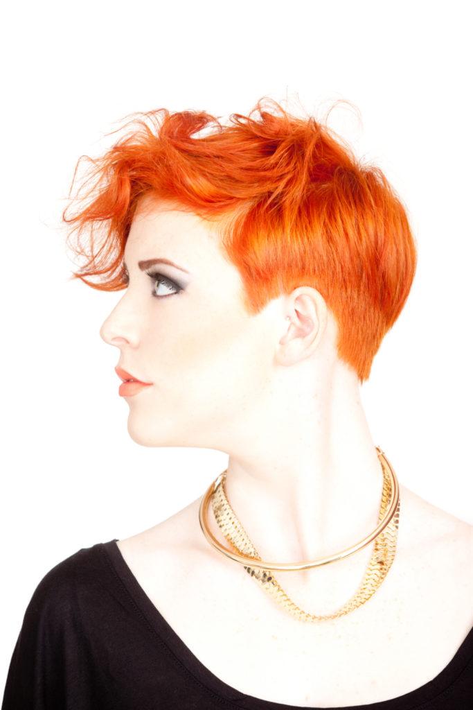 Rosso arancio.