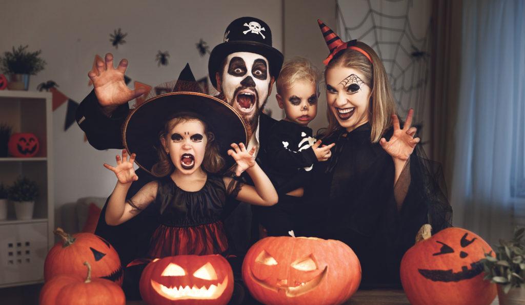 Tante idee originali per un Halloween formato famiglia!
