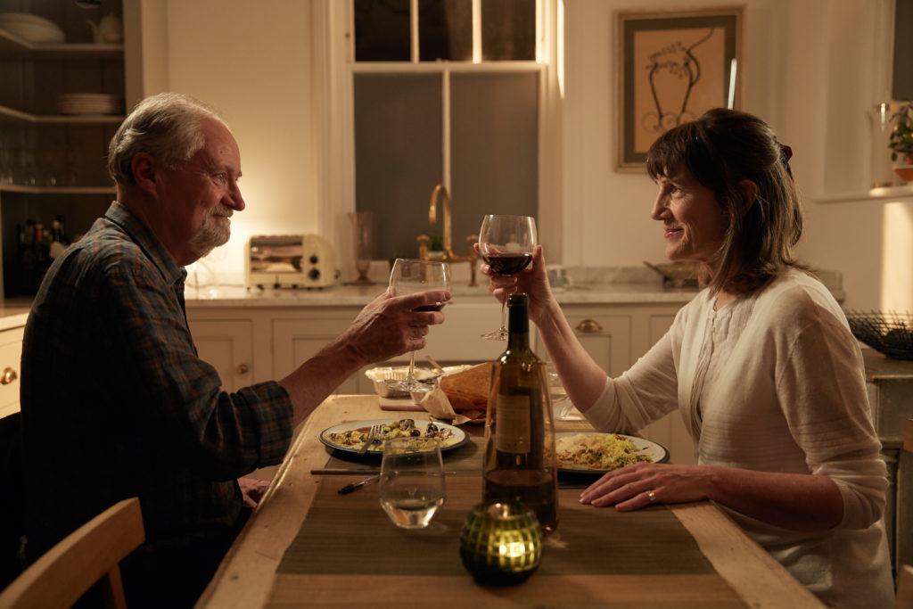 L'altra metà della storia, Charlotte Rampling e Jim Broadbent