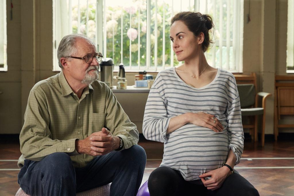 L'altra metà della storia, i protagonisti Jim Broadbent e Michelle Dockery