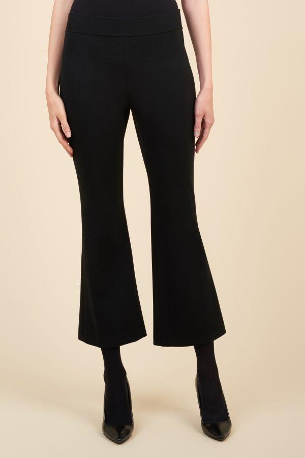 Luisa Spagnoli pantalone cropped a zampa.