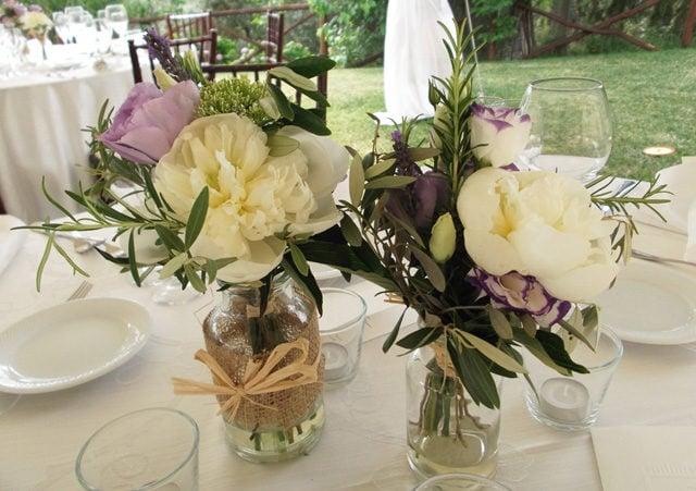 Vasetti di fiori.