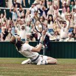 Bjorn Borg (Sverrir Gudnason) la finale di Wimbledon 1980